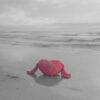 Foto quadro mare e cuore lunga esposizione - Antonella Fusco